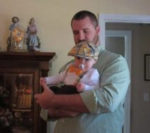 Dad with Hershel
