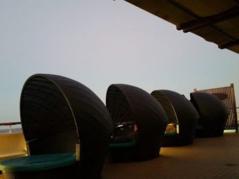 """Serenity lounge """"cocoons"""""""