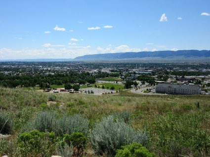View from NHTIC looking over Casper