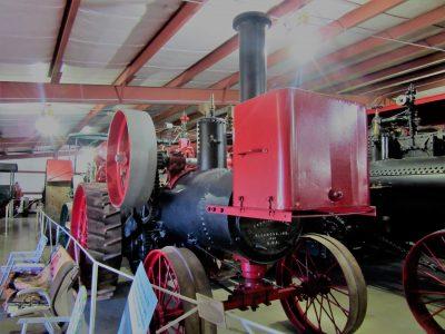 Stuhr's building of antique farm equipment & cars