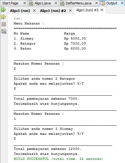 Cara membuat program aplikasi kasir dengan menggunakan
