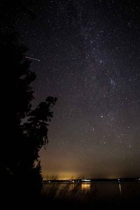 Perseids from Marrowstone Island, WA, 12Aug2016., Photo by Allan J Jones