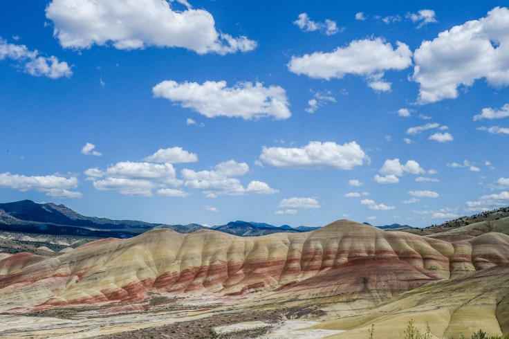 John Day Painted Hills photo by Allan J Jones