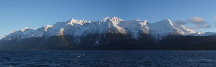 Mountains along Lynn Canal, North of Juneau, 24Nov2013, Photo by Allan J Jones