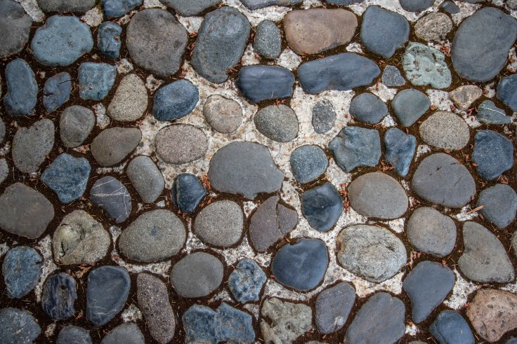 Stone Pavement Pattern by Allan J Jones Photographer