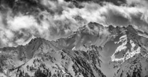 Bailey Range Ridge by Allan J Jones Photography