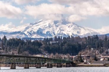 Mt Hood from Hood River by Allan J Jones Photography