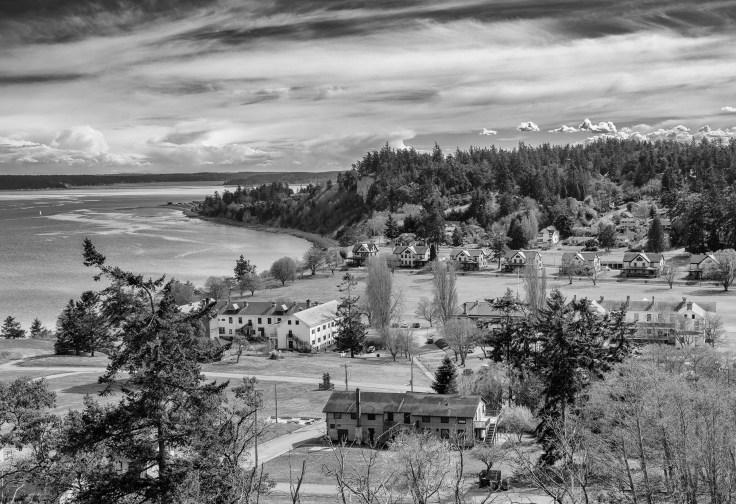 Fort Worden View by Allan J Jones Photography
