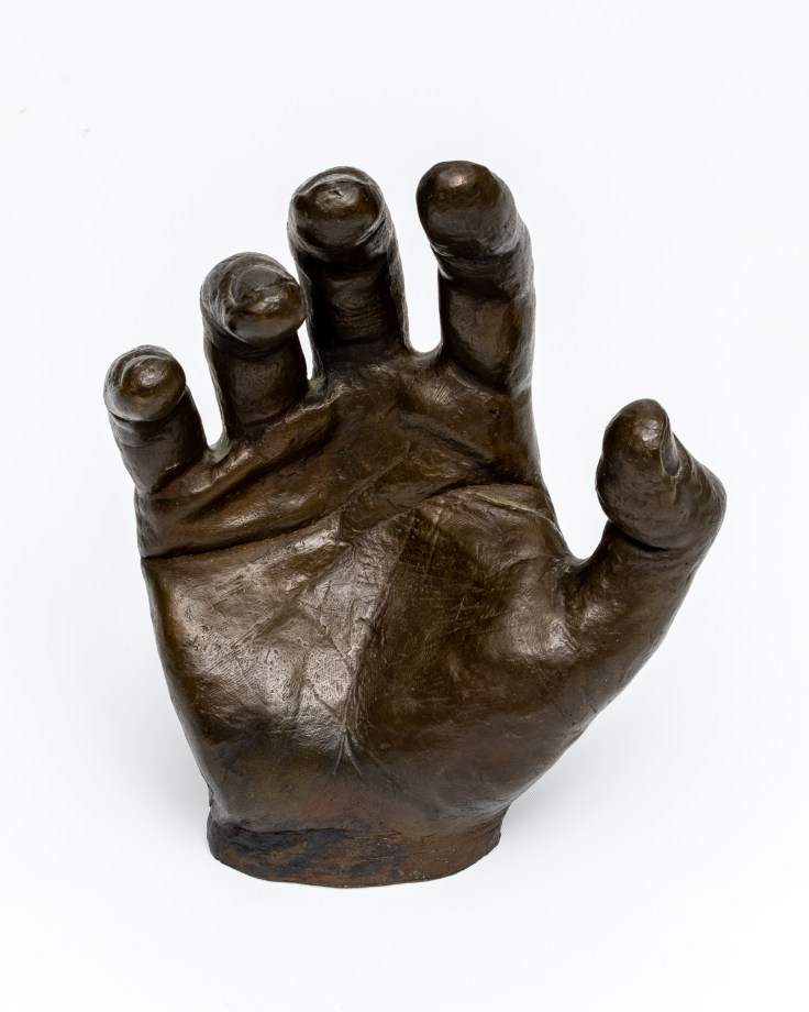 Bronze Hand by Allan J Jones