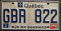 200px-Quebec_1992_license_plate