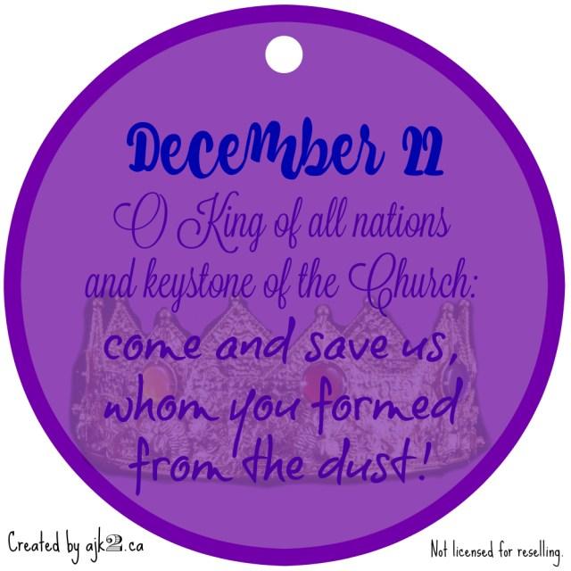 December 22 - site
