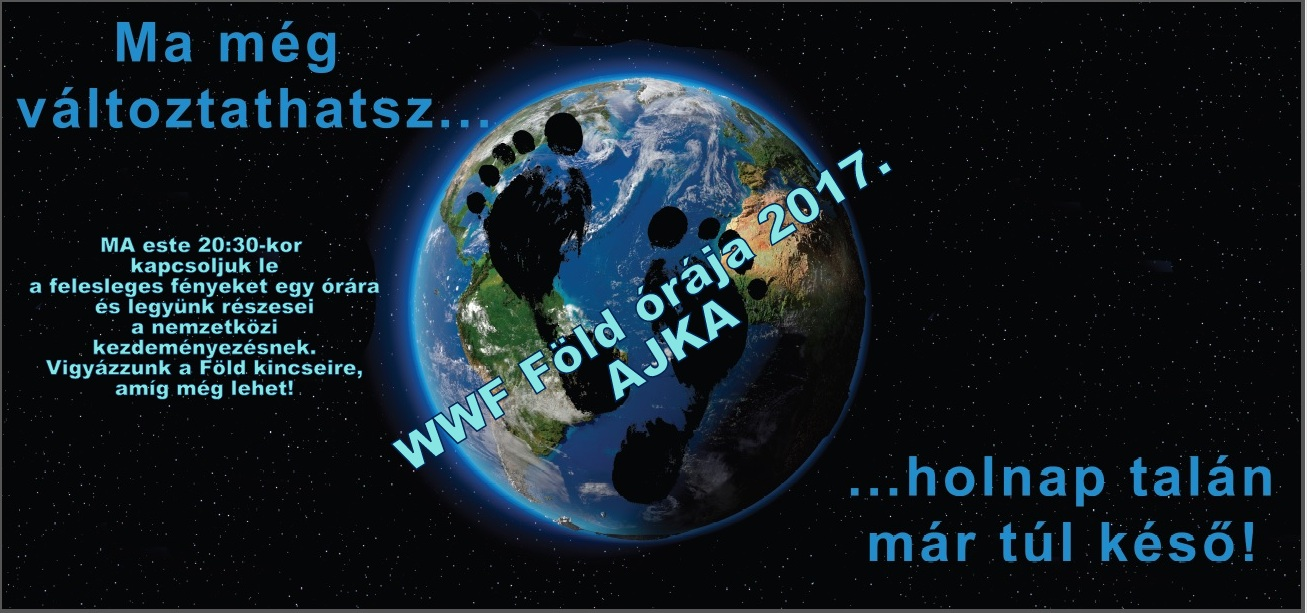 WWF Föld órája 2017 Ajka