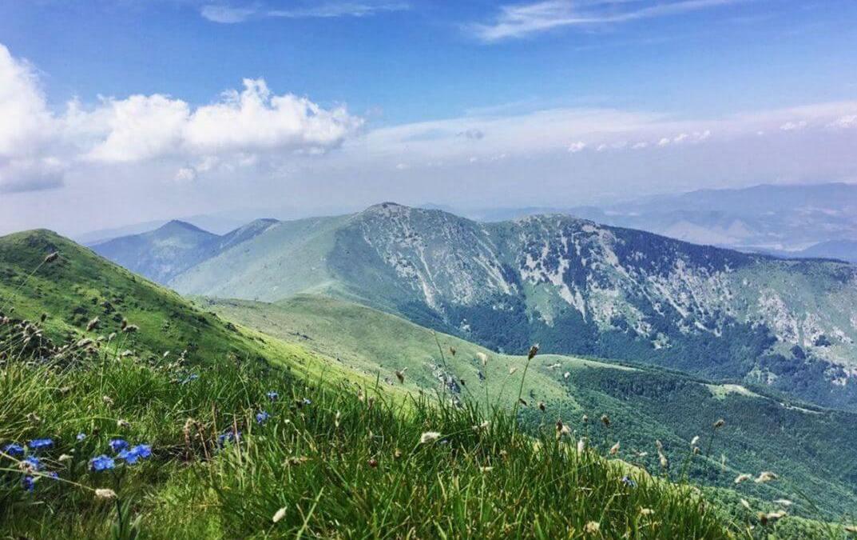 Vazduh, nepregledna belina planinskog masiva