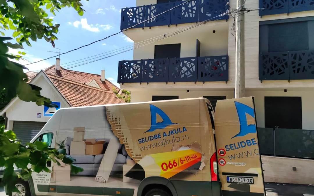 Selidbe malih stanova u Beogradu