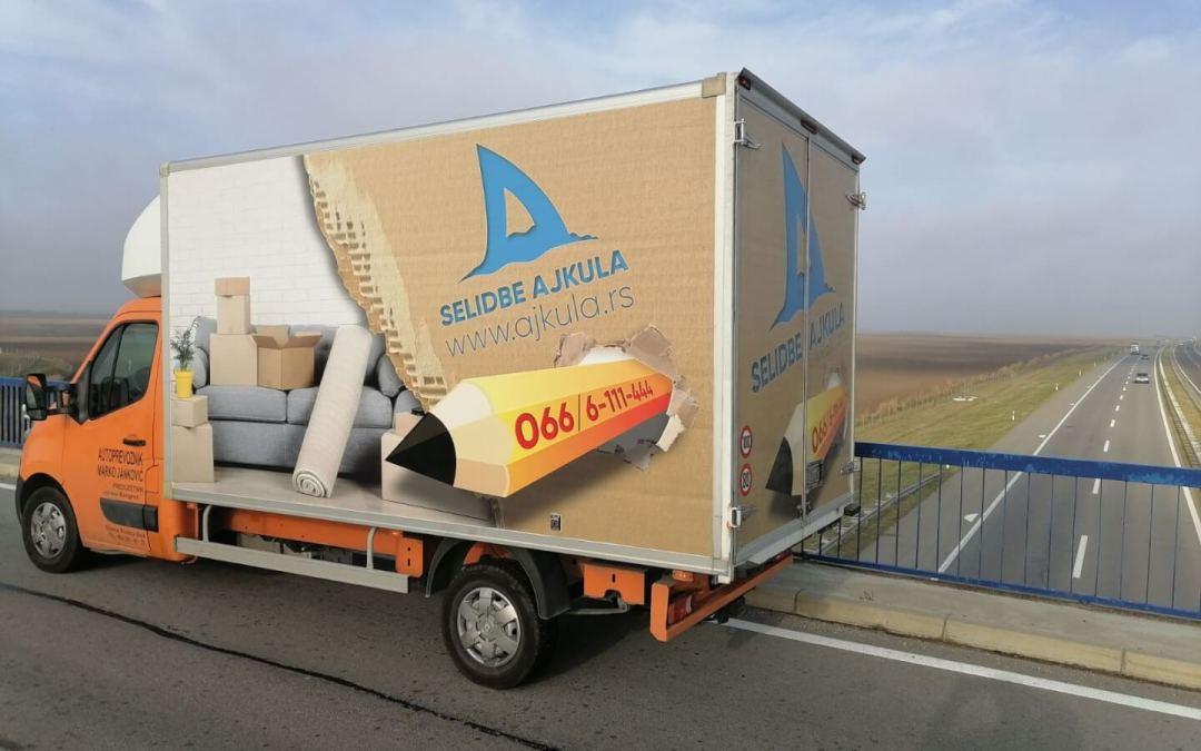 Kamion za selidbe Beograd