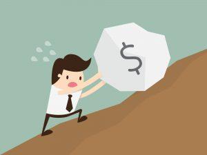 Si estas agobiado por tus deudas tienes una segunda oportunidad.
