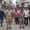 सदर बाजार मूँदरी मौहल्ला के व्यापारियों ने किया पुलिस अधिकारियों का स्वागत
