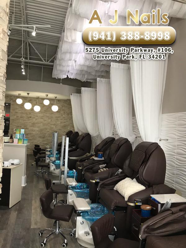 Aj Nail Salon : salon, Nails, Salon, 34201, University