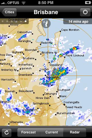 Brisbane Radar