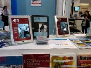 iPad app exhibit AORN