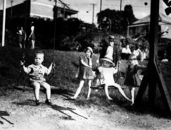 Children at playground, Brisbane, Australia, 1939/Wikimedia Commons