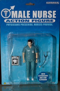 Male nurse action figure/ gcfairch, flickr