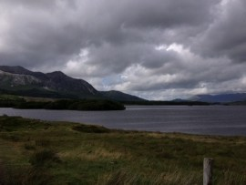 Moody Connemara scenery