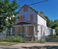 Ariel Castro's home in Cleveland, OH/Wikimedia Commons