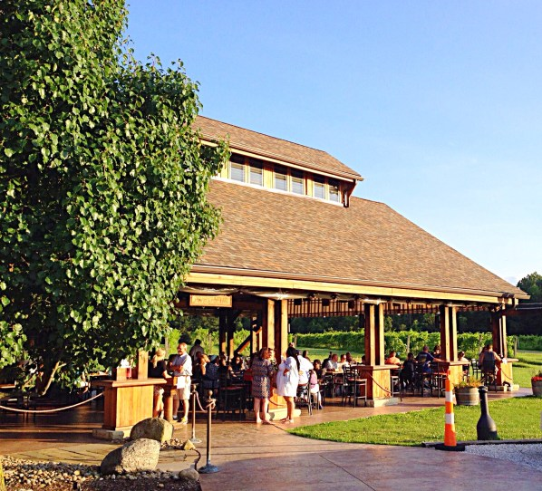 Photo of The Covered Patio at Sarah's Vineyard