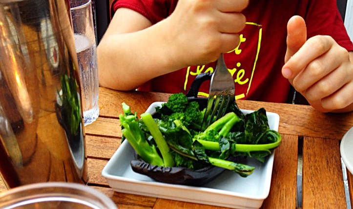 Photo of veggies prepared specially for kids
