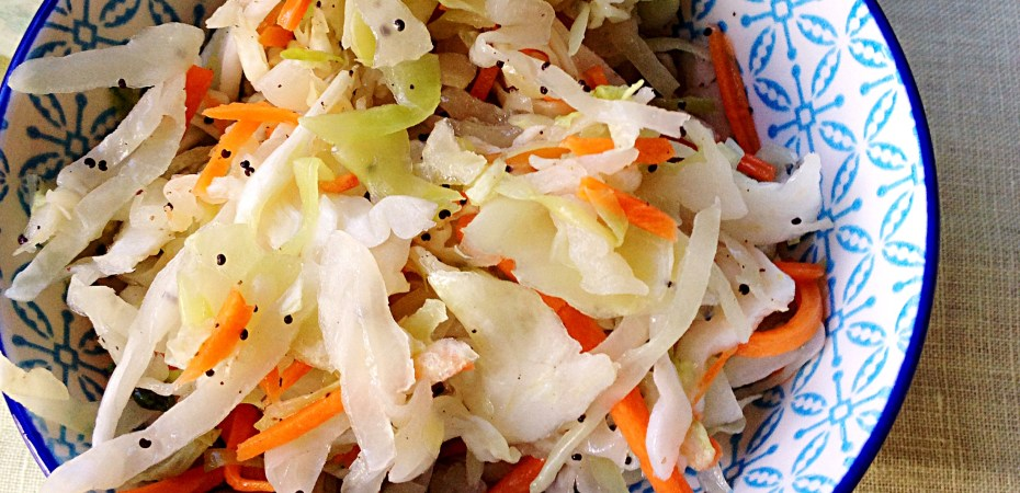 easy, no mayonnaise coleslaw