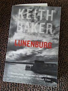 Crime novel, Lunenberg, by Keith Baker