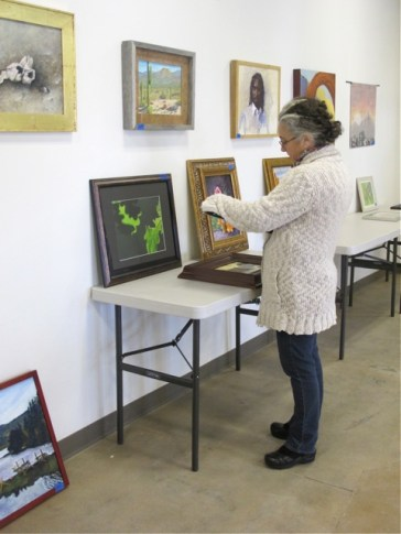 Tucson artist and instructor Betina Fink juried the show.