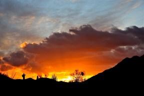 """Ekkehard Fischer """"Sunset on North Ajo Peak"""""""