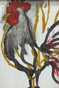 Unfinished Rooster, Karen Sucharski