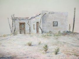 Old Ranch on the Border, Faye Gustafson