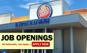 Dave & Buster's Job Opportunities