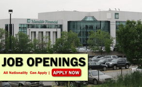 Manulife Financial Job Opportunities