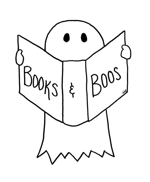 I'll be at Books & Boos on Saturday, and I'm only reading