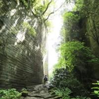 先人の足跡辿る道