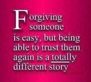 Forgiving Someone