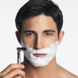 Shaving in Men