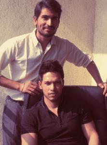 Anurag (Standing) and Ashutosh (Sitting)