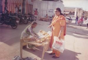 Mom at Mt. Thanthoni, Tamil Nadu