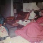 Mrs. Jaya Chakraborty with Mom