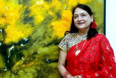 Painter Anita Narain