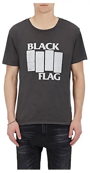 Barney's Black Flag t-shirt