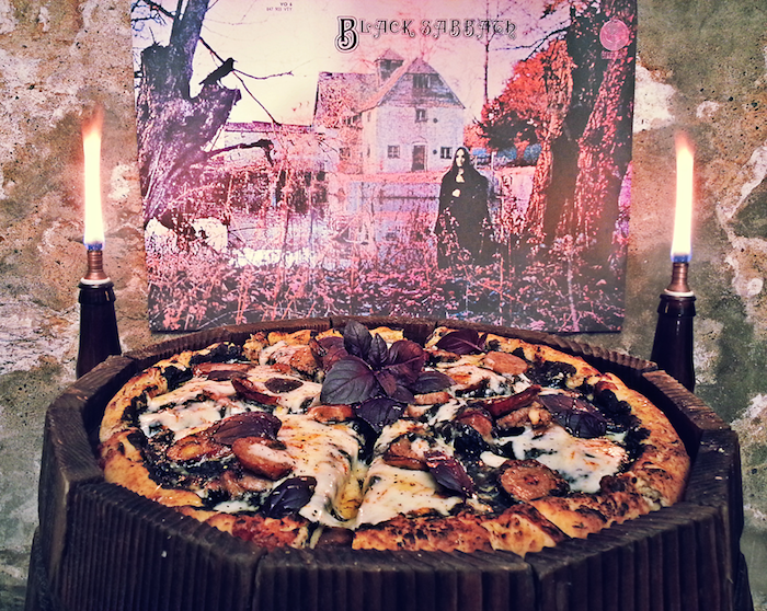 Black Sabbath pizza
