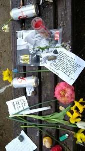 Kurt Cobain bench 5 April 2014