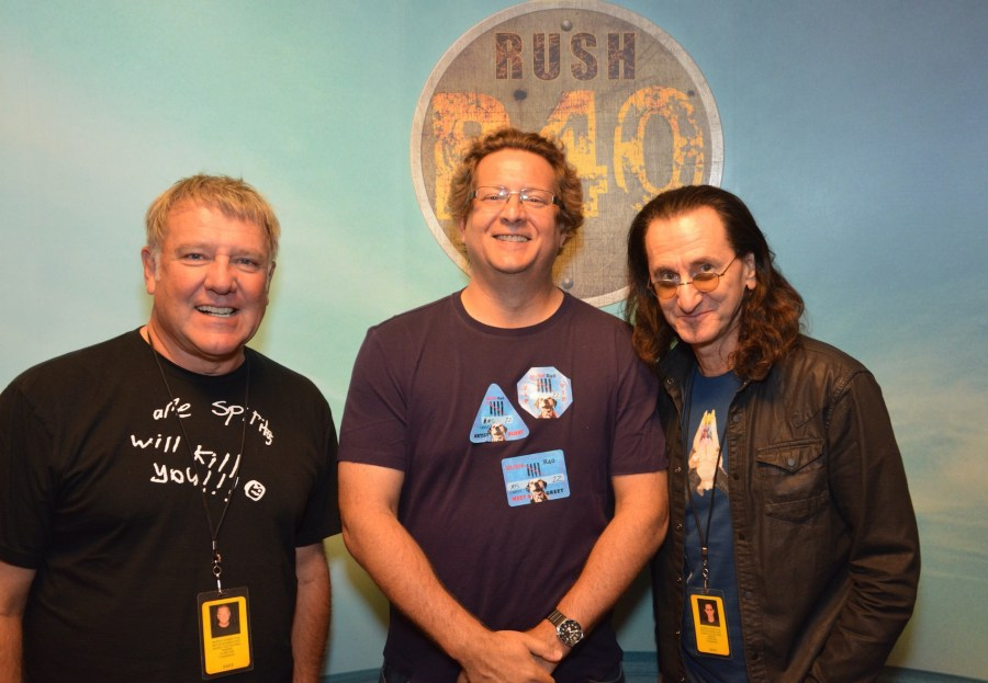 Me, Alex and Geddy in Las Vegas copy
